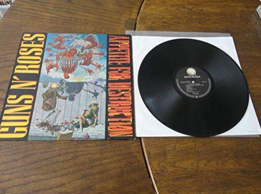 Appetite for Destruction (1987) Album de Guns N' Roses