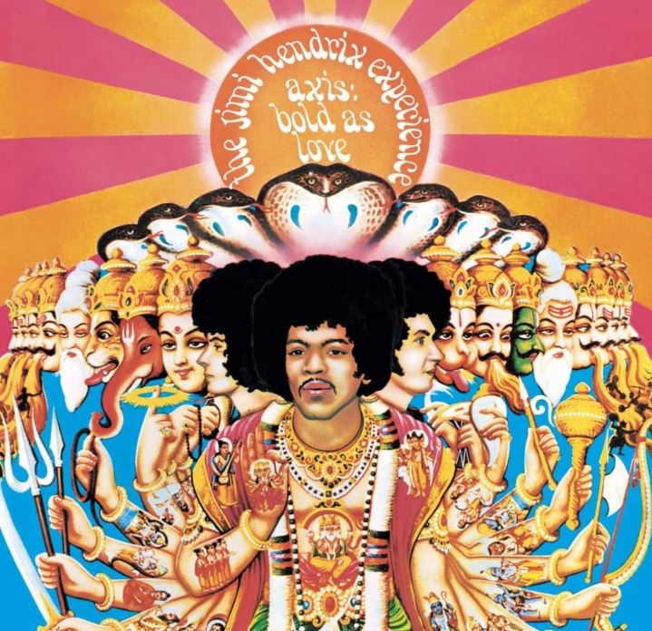 Axis Bold as Love (1967) Album de Jimi Hendrix The Experience