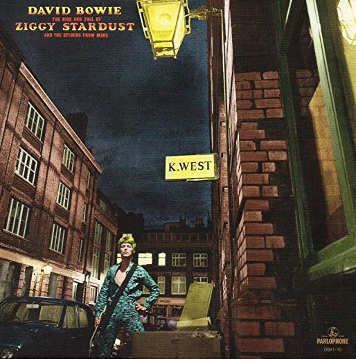 The Rise and Fall of Ziggy Stardust and the Spiders From Mars de David Bowie